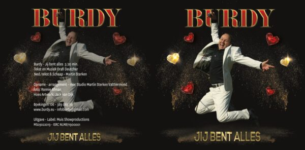 CD single Burdy - Jij bent alles