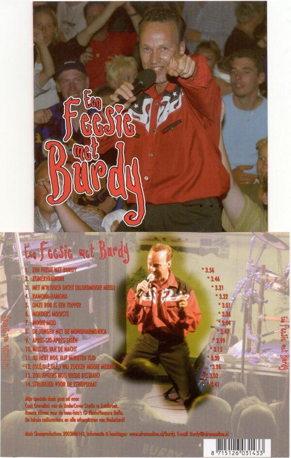 CD Burdy Een feesie met Burdy