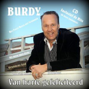 CD Burdy - Van harte gefeliciteerd