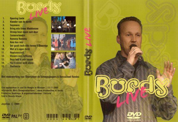 DVD Burdy live in Winsum